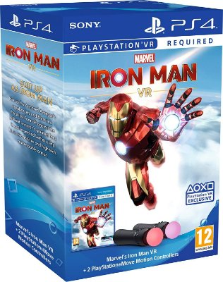 Marvel's Iron Man VR PlayStation Move Controller Bundle - PS4 VR