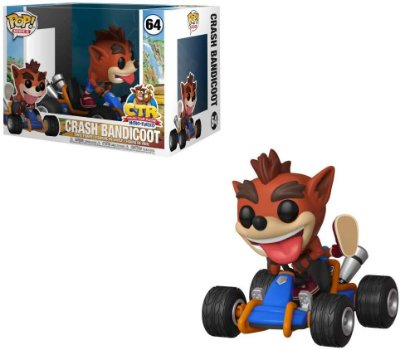 Funko Pop Rides 64 Crash Bandicoot Racing Kart