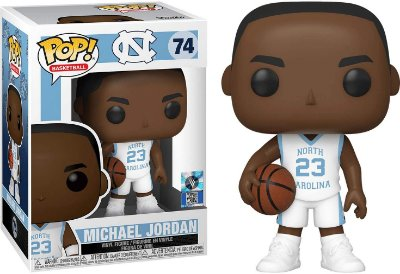 Funko Pop North Carolina 74 Michael Jordan