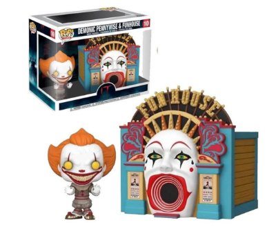 Funko Pop It 10 Demonic Pennywise & Funhouse