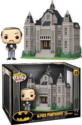 Funko Pop Batman 13 Alfred Pennyworth With Wayne Manor