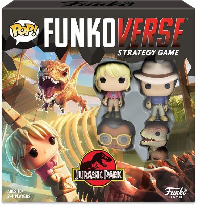 Funko Pop Funkoverse Strategy Game Jurassic Park Base Set - Inglês