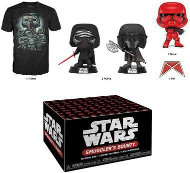 Funko Pop Star Wars Smugglers Bounty Collectors Box Forces of Darkness - S