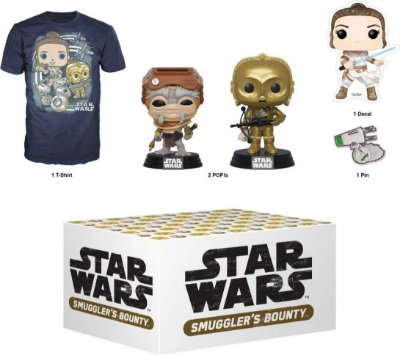 Funko Star Wars Smugglers Bounty Rise of Skywalker Box - S
