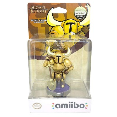 Amiibo Shovel Knight Gold Edition - Switch / 3DS