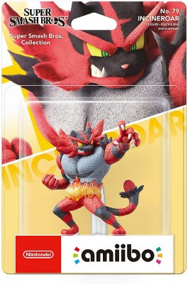 Amiibo Incineroar Super Smash Bros - Switch / 3DS