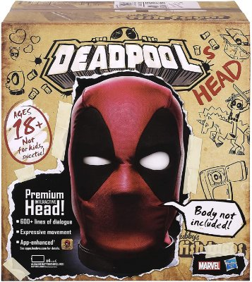 Marvel Legends Deadpool's Head Premium Interactive Talking