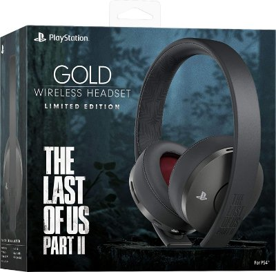 PlayStation Gold Wireless Headset The Last of Us Part 2 - PS4