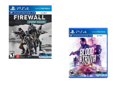 Combo 2 Jogos PS4 VR Blood & Truth + Firewall Zero Hour