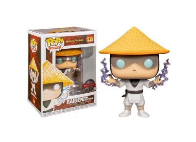 Funko Pop Mortal Kombat 539 Raiden With Lightning Special