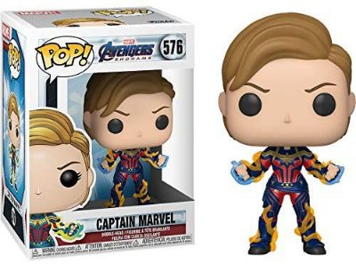 Funko Pop Avengers Endgame 576 Captain Marvel New Hair