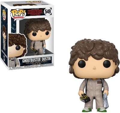 Funko Pop Stranger Things 549 Ghostbusters Dustin