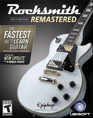 Rocksmith 2014 Edition Remastered Somente Jogo - Pc