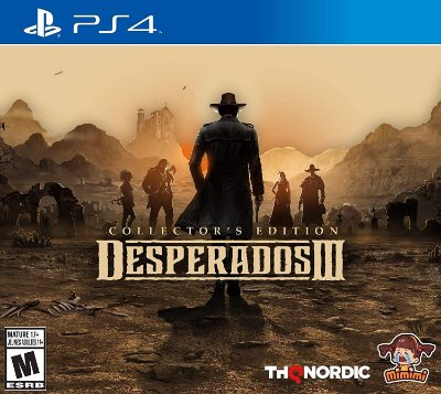 Desperados III Collectors Edition - PS4