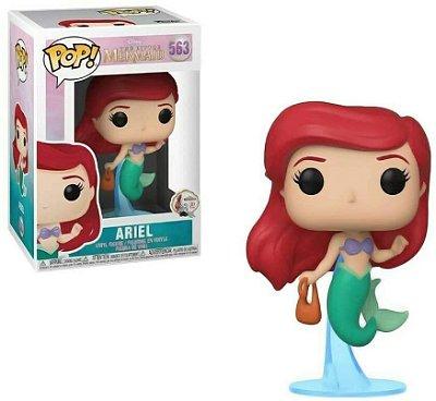 Funko Pop Disney Princess 563 Ariel with Bag Pequena Sereia