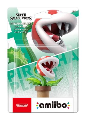 Amiibo Piranha Plant Super Smash Bros Switch 3ds