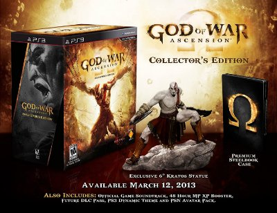 God Of War Ascension Collectors Edition - Ps3