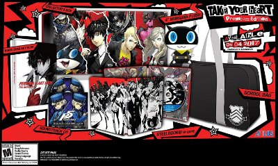 Persona 5 Take Your Heart Premium - Ps4