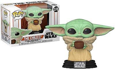 Funko Pop Star Wars Mandalorian 378 The Child w/ Cup Baby Yoda