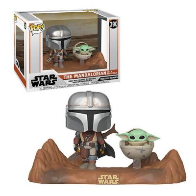 Funko Pop Star Wars 390 The Mandalorian w/ The Child Baby Yoda
