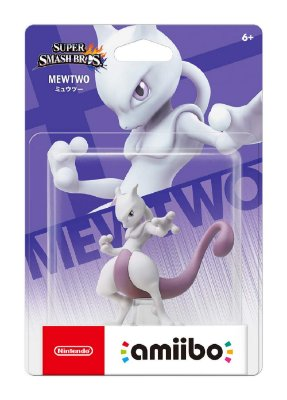 Amiibo Mewtwo Pokemon Super Smash Bros Series