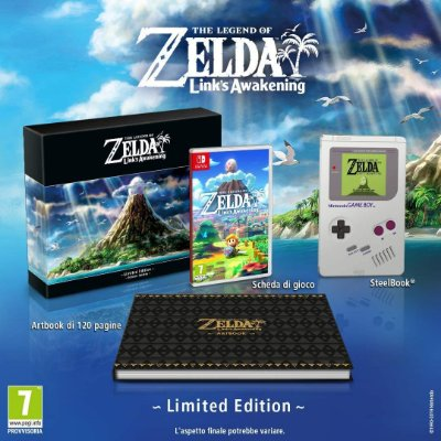 The Legend of Zelda Link's Awakening Limited Edition Europa - Switch