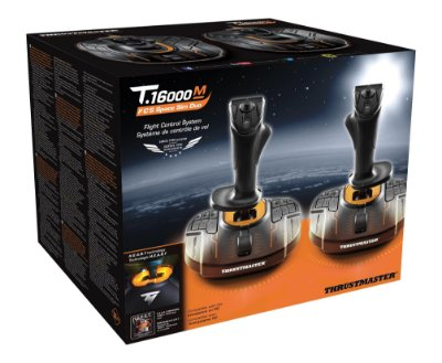 Kit 2 Joystick Thrustmaster T.16000m Fcs Space Sim Duo