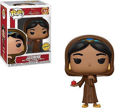 Funko Pop Aladdin 477 Jasmine w/ Apple Chase