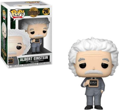 Funko Pop World History 26 Albert Einstein