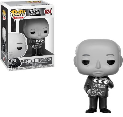 Funko Pop Director 624 Alfred Hitchcock Diretor