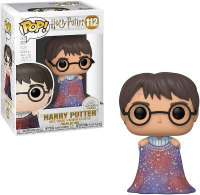 Funko Pop Harry Potter 112 Harry Potter w/ Invisibility Cloak