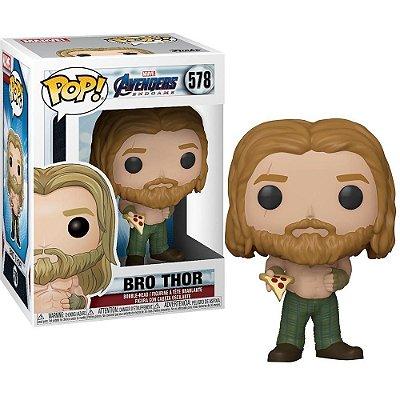 Funko Pop Avengers Endgame 578 Bro Thor w/ Pizza