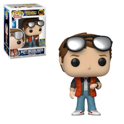 Funko Pop Back to the Future 965 Marty Checking Watch