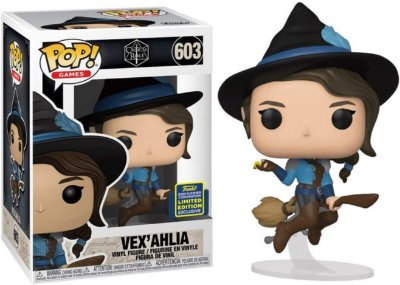 Funko Pop Critical Role 603 Vex'ahlia On Broom Sdcc 2020