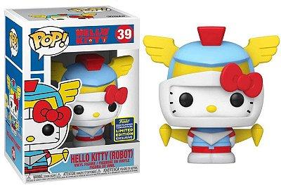 Funko Pop Hello Kitty 39 Hello Kitty Robot Sdcc 2020