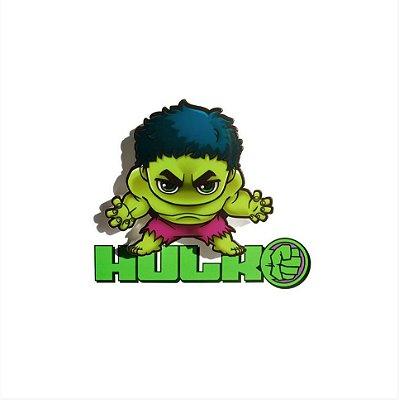 Mini Luminária 3D Light FX Vingadores Hulk