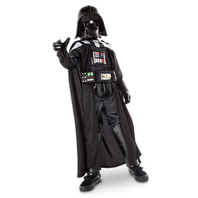 Fantasia Star Wars Darth Vader Light Up C/ Sons - Infantil