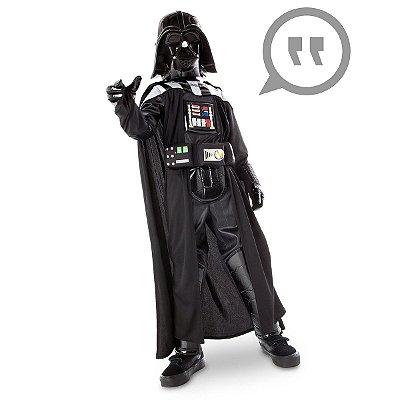 Fantasia Star Wars Darth Vader Light Up C/ Sons - Infantil