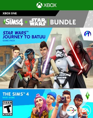 The Sims 4 + Star Wars Journey to Batuu Bundle - Xbox One