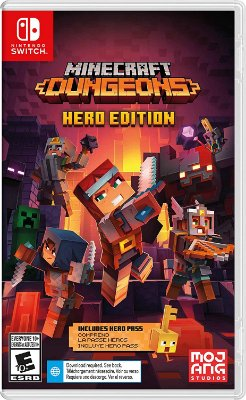 Minecraft Dungeons Hero Edition - Switch