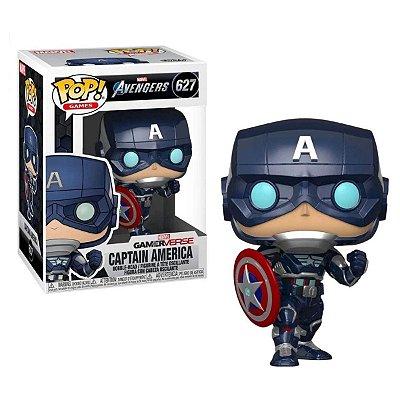 Funko Pop Marvel Avengers 627 Captain America Tech Suit