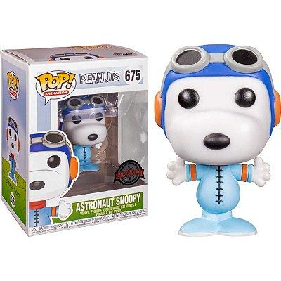 Funko Pop Peanuts 675 Astronaut Snoopy Special Edition
