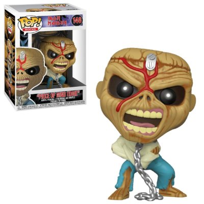 Funko Pop Rocks Iron Maiden 146 Piece Of Mind Eddie