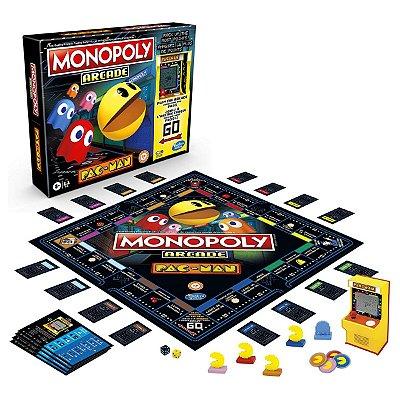 Jogo Monopoly Arcade Pac-man Hasbro (Inglês)