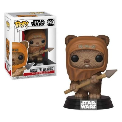 Funko Pop Star Wars 290 Wicket W Warrick
