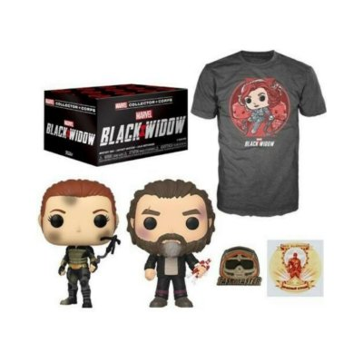Funko Box Collectors Corps Marvel Black Widow Viúva Negra - XL