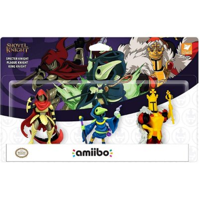 Amiibo Shovel Knight Pack 3 Amiibos Switch 3DS Wii U