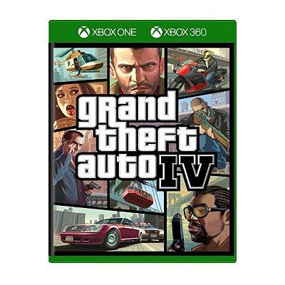 Grand Theft Auto IV GTA 4 - Xbox 360/Xbox One