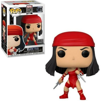 Funko Pop Marvel 80th 581 Elektra Exclusive