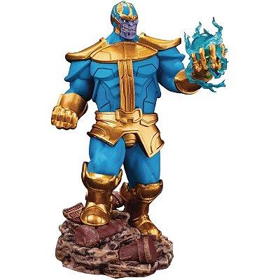 Estátua Beast Kingdom Thanos Marvel Comics Version Diorama 014SP
